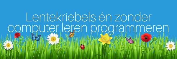 App van de maand: lentekriebels & leren programmeren zonder computer