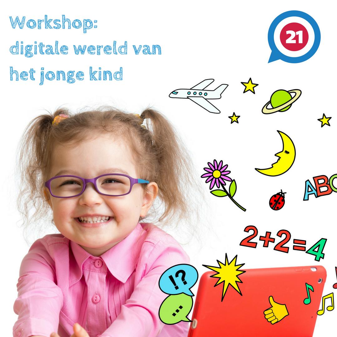 Workshop: de digitale wereld van het jonge kind