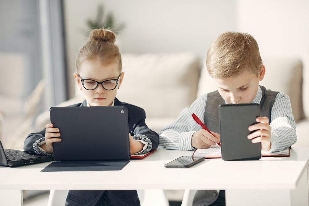 Is een schrift soms beter dan een laptop?